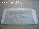 čelní čiré sklo Fiat 127 lamino